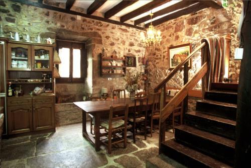 comedor casa rural imitte en Vizcaya