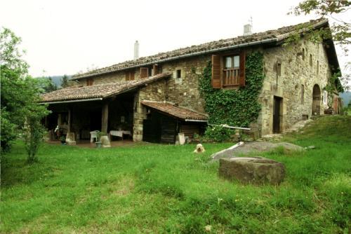 fachada 1 casa rural imitte en Vizcaya
