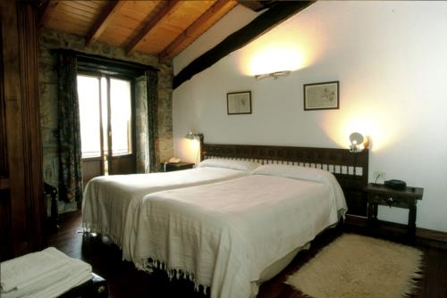 habitación doble casa rural imitte en Vizcaya