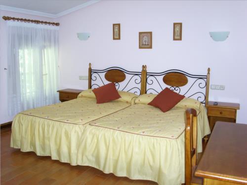 habitación doble agroturismo Laskin-Enea en Gipuzkoa