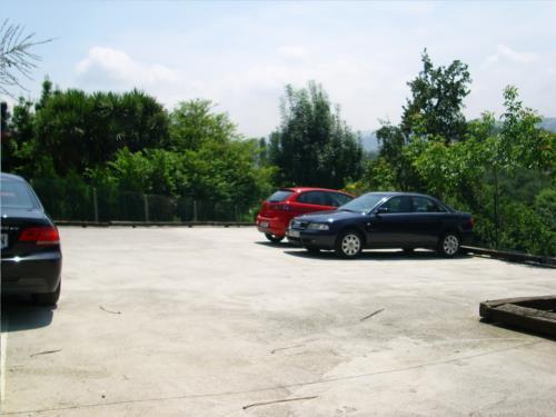 parking agroturismo Laskin-Enea en Gipuzkoa