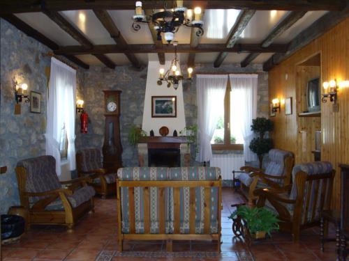 living room farm house laskin enea in Gipuzkoa
