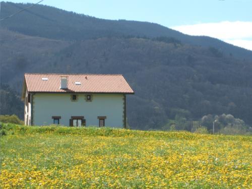 outside farm house karobi in Gipuzkoa