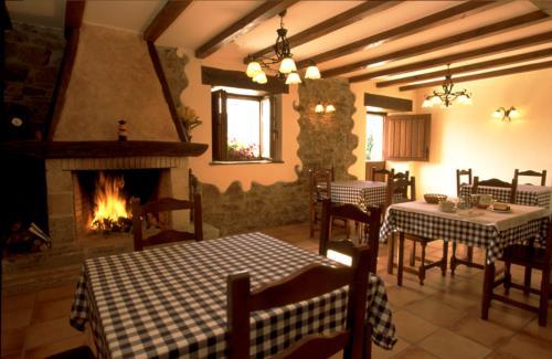 comedor casa rural madariaga en Vizcaya