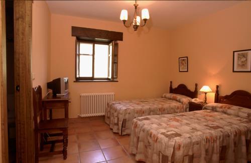 habitación doble 1 casa rural madariaga en Vizcaya