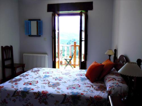 habitación doble casa rural madariaga en Vizcaya