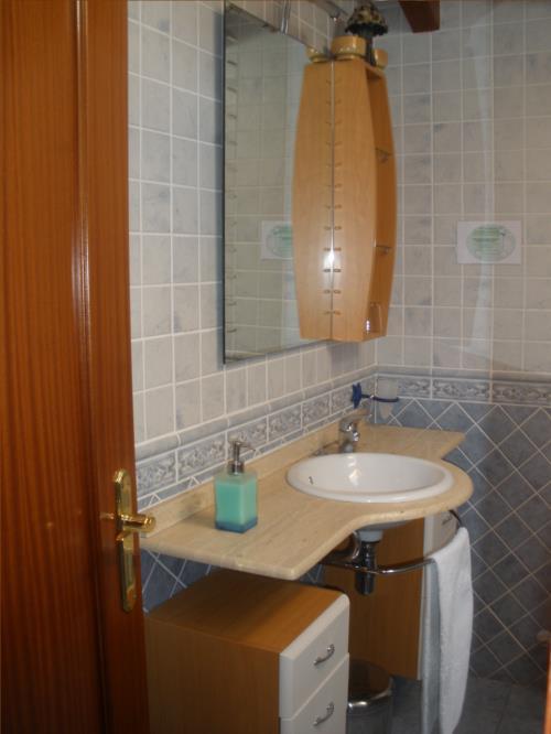 baño agroturismo araiko etxea en Alava