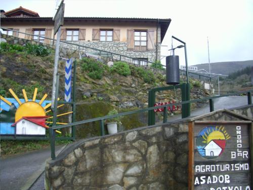 entrance farm house ordaola in Bizkaia