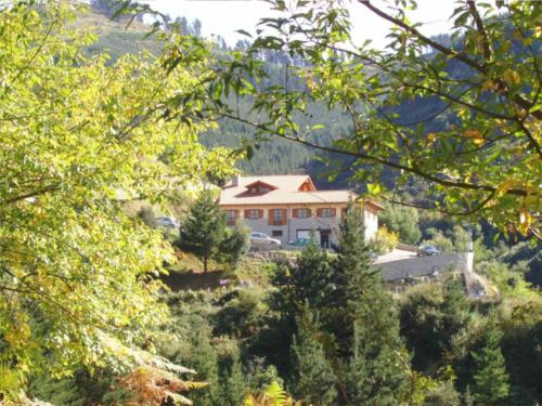 Paisaje 2 agroturismo Ordaola en el gran Bilbao Bizkaia