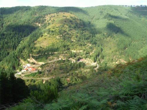 Paisaje agroturismo Ordaola en el gran Bilbao Bizkaia