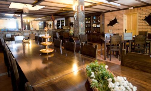 Sala de reunión agroturismo Ordaola en el gran Bilbao Bizkaia