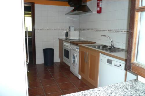 kitchen country house angoitia in Bizkaia