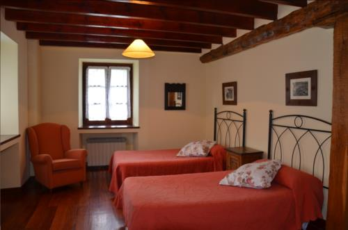 double room country house angoitia in Bizkaia