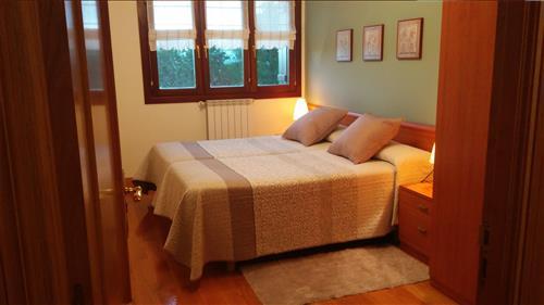 habitación doble agroturismo Erretegi Haundi en Gipuzkoa