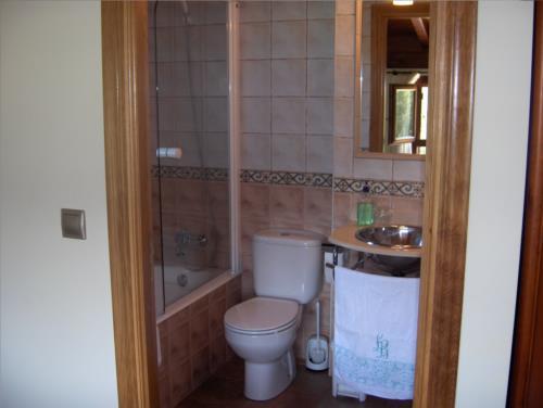 baño agroturismo Erretegi Haundi en Gipuzkoa