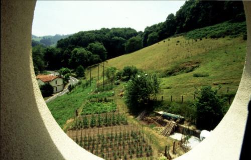 paisaje agroturismo palacio san narciso en gipuzkoa