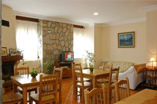 living room farm house palacio san narciso in Gipuzkoa
