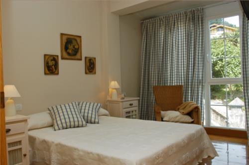 habitación doble 1 casa rural urdinetxe en Alava