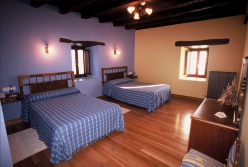 double room country house bentazar in Alava