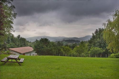 landscape farm house artizarra in Gipuzkoa