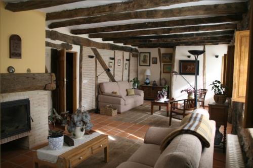 salón 1 casa rural ametzola en Vizcaya