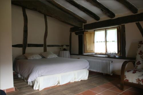 habitación doble casa rural ametzola en Vizcaya