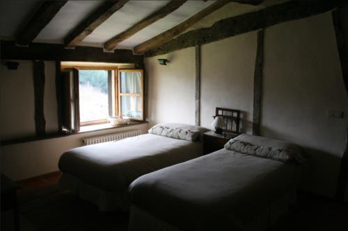 habitación doble 4 casa rural ametzola en Vizcaya