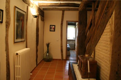 pasillo casa rural ametzola en Vizcaya