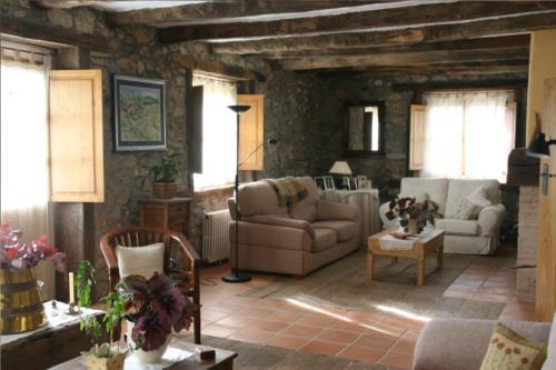 salón casa rural ametzola en Vizcaya