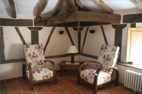 habitación doble 1 casa rural ametzola en Vizcaya
