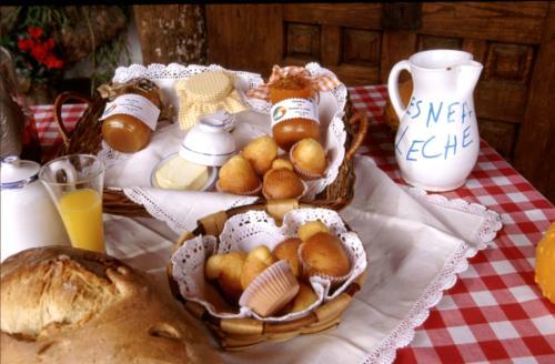 desayuno agroturismo uxarte en Alava