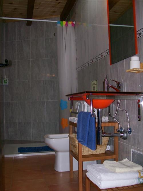 Baño agroturismo Kasa Barri en Bizkaia