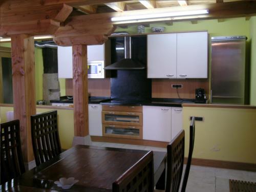 cocina casa rural patxi errege en Vizcaya