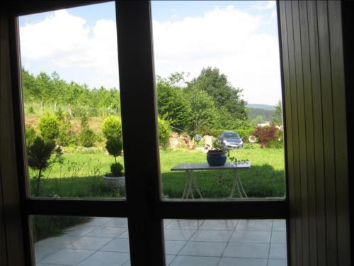 paisaje casa rural patxi errege en Vizcaya