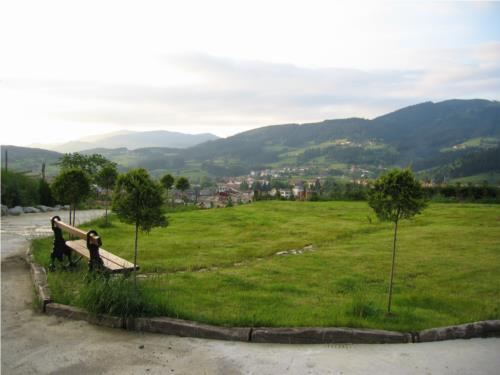 paisaje 1 casa rural patxi errege en Vizcaya