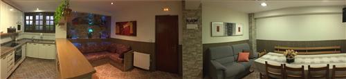 interior casa rural A.Berri en Gipuzkoa