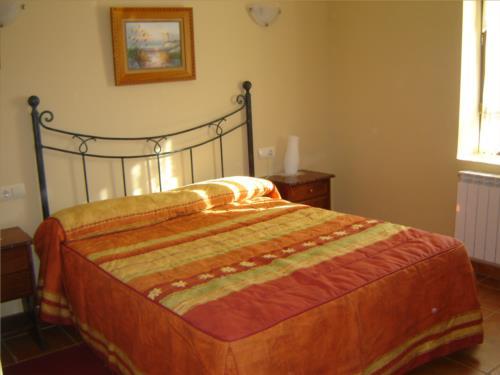 habitación doble apartamento agroturismo Itulazabal en Gipuzkoa