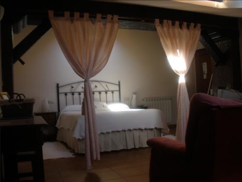 habitación doble 4 agroturismo Itulazabal en Gipuzkoa