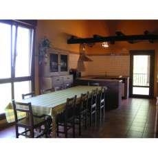 dining room farm house lokate in Gipuzkoa