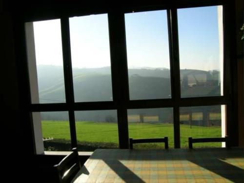 views farm house lokate in Gipuzkoa