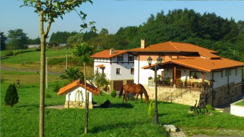 Paisaje 1 casa rural Arriortua en Bizkaia