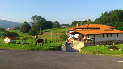 Paisaje 3 casa rural Arriortua en Bizkaia