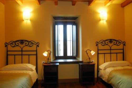 double room 2 country house apezetxea in Alava