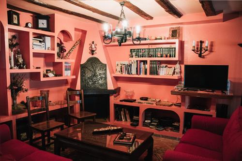 Living room - Dining room Urrezko Ametsa Cottage in Bizkaia