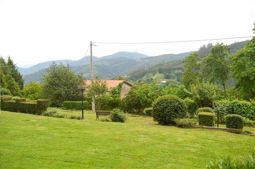 Views from Urrezko Ametsa Country House in Bizkaia