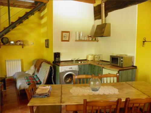 cocina casa rural Iragorri en Gipuzkoa