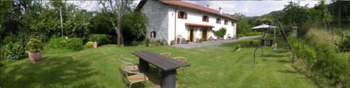 exterior 1 casa rural Iragorri en Gipuzkoa