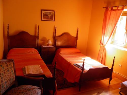 habitación doble casa rural Iragorri en Gipuzkoa