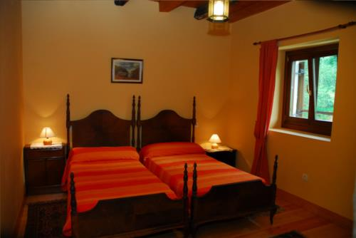 double room country house iragorri in Gipuzkoa