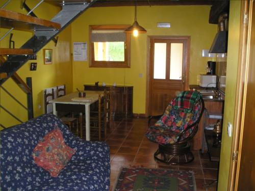 living room country house iragorri in Gipuzkoa
